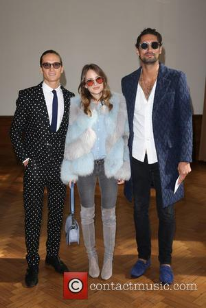 Oliver Proudlock, Rosie Fortescue and Hugo Taylor