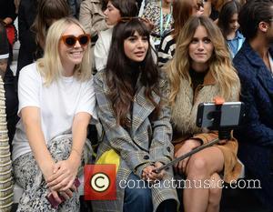 Zara Martin - London Fashion Week Spring/Summer 2016 - Eudon Choi - Front Row at London Fashion Week - London,...
