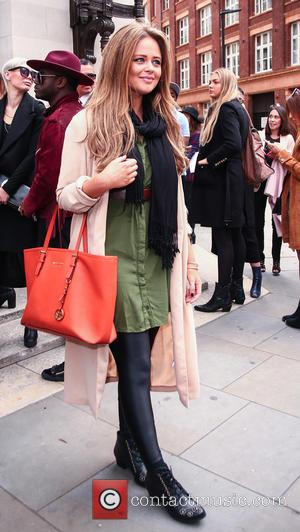 Emily Atack - London Fashion Week SS16 - Felder Felder - Outside Arrivals at London Fashion Week - London, United...