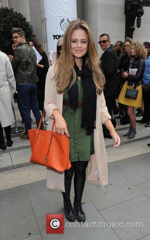 Emily Atack - London Fashion Week - Spring / Summer 2016 - Felder Felder - Arrivals at London Fashion Week...