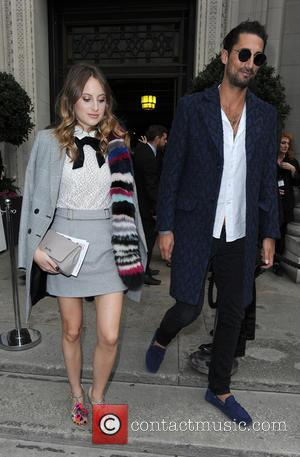 Rosie Fortescue and Hugo Taylor