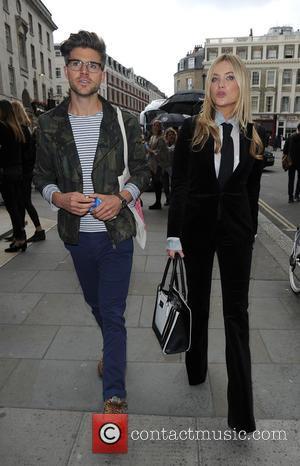 Laura Whitmore - London Fashion Week - Spring / Summer 2016 - Felder Felder - Arrivals at London Fashion Week...