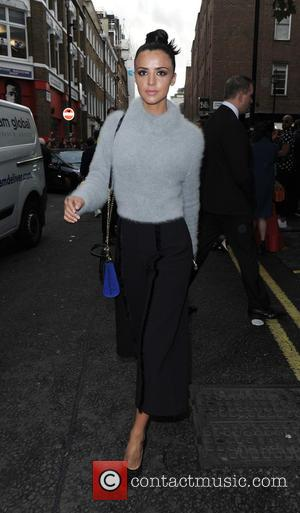Lucy Mecklenburgh at London Fashion Week