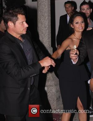 Nick Lachey , Vanessa Lachey - 2015 Entertainment Weekly Pre-Emmy Party at Fig & Olive Melrose Place - Departures -...