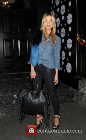 Laura Whitmore at London Fashion Week
