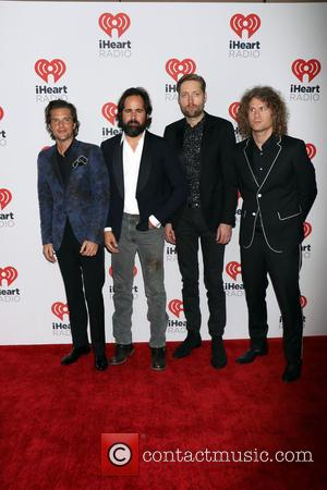The Killers - IHeartRadio Music Festival 2015 held at MGM Grand Garden Arena - Day 1 - Las Vegas, Nevada,...