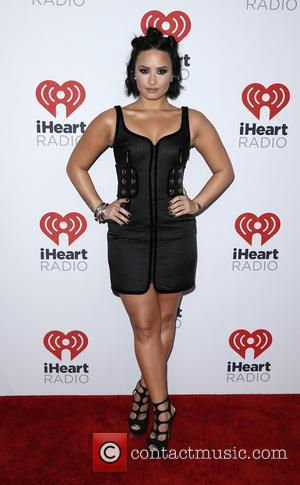 Demi Lovato - iHeartRadio Music Festival 2015 at the MGM Grand Garden Arena - Day 1 - Arrivals at MGM...