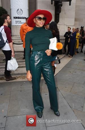 Amira McCarthy - London Fashion Week Spring/Summer 2016  - Pam Hogg - Outside at London Fashion Week - London,...