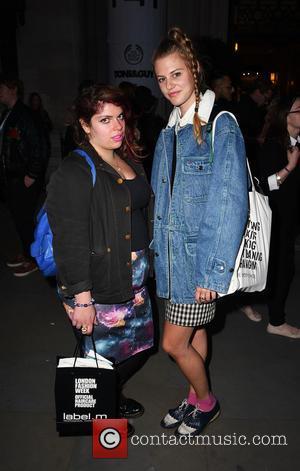 Izabella Malewska - London Fashion Week Spring/Summer 2016  - Pam Hogg - Outside at London Fashion Week - London,...
