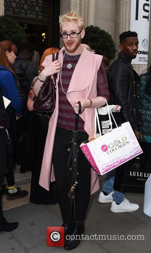 Lewis Duncan Weedon - London Fashion Week Spring/Summer 2016  - Pam Hogg - Outside at London Fashion Week -...