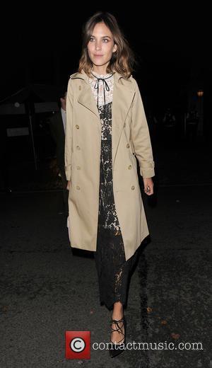 Alexa Chung - London Fashion Week Spring/Summer 2016 - Ambassador's Reception in association with Vogue  - Arrivals at London...