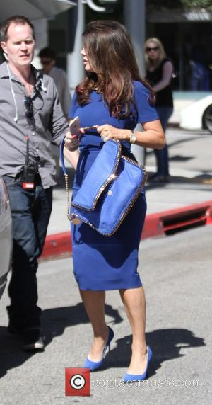 Lisa Vanderpump - Lisa Vanderpump after filming 'The Real Housewives of Beverly Hills' with her husband Ken Todd in Hollywood...
