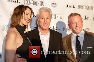 Alison Miller, Richard Gere and Spencer Beck