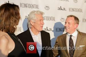 Alison Miller, Richard Gere and Spencer Beck