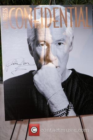Richard Gere - Los Angeles Confidential magazine celebrates the release of their October issue with cover star Richard Gere at...
