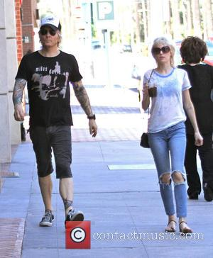 Matt Sorum , Ace Harper - Matt Sorum and his wife Ace Harper out shopping in Beverly Hills - Hollywood,...