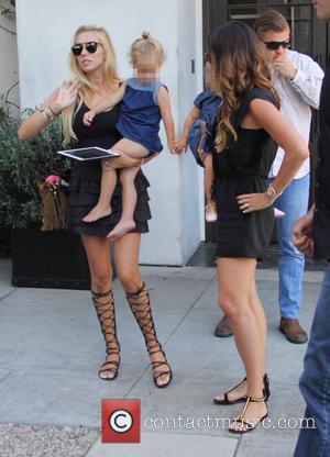 Tamara Ecclestone, Petra Ecclestone, Petra Stunt, Lavinia Stunt , Sophia Eccelstone-Rutland - Tamara Ecclestone and her sister Petra leaving Spago...