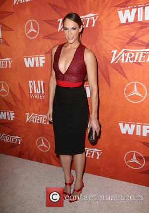 Amanda Righetti - Variety and Women in Film Pre-Emmy Celebration Party sponsored by Mercedes-Benz and Fiji Water at Gracias Madre...