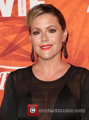Kathleen Robertson - Variety and Women in Film Pre-Emmy Celebration Party sponsored by Mercedes-Benz and Fiji Water at Gracias Madre...