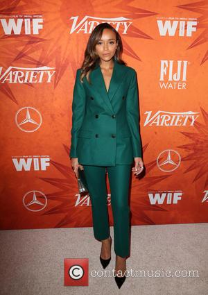 Ashley Madekwe - Variety and Women in Film Pre-Emmy Celebration Party sponsored by Mercedes-Benz and Fiji Water at Gracias Madre...