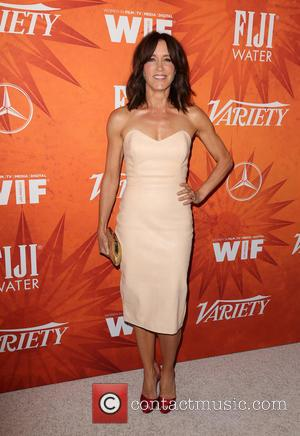 Felicity Huffman - Variety and Women in Film Pre-Emmy Celebration Party sponsored by Mercedes-Benz and Fiji Water at Gracias Madre...