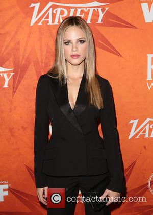 Halston Sage - Variety and Women in Film Pre-Emmy Celebration Party sponsored by Mercedes-Benz and Fiji Water at Gracias Madre...