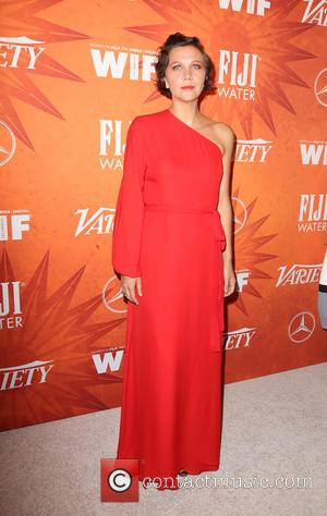 Maggie Gyllenhaal - Variety and Women in Film Pre-Emmy Celebration Party sponsored by Mercedes-Benz and Fiji Water at Gracias Madre...