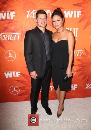 Nick Lachey , Vanessa Lachey - Variety and Women in Film Pre-Emmy Celebration Party sponsored by Mercedes-Benz and Fiji Water...