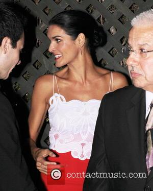 Angie Harmon - Variety and Women in Film Pre-Emmy Celebration Party sponsored by Mercedes-Benz and Fiji Water at Gracias Madre...
