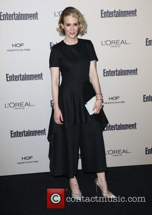 Sarah Paulson - 2015 Entertainment Weekly Pre-Emmy Party at Fig & Olive Melrose Place - Arrivals at Fig & Olive...