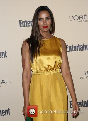 Padma Lakshmi - 2015 Entertainment Weekly Pre-Emmy Party at Fig & Olive Melrose Place - Arrivals at Fig & Olive...