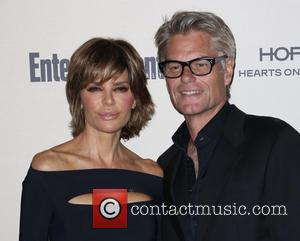Lisa Rinna , Harry Hamlin - 2015 Entertainment Weekly Pre-Emmy Party at Fig & Olive Melrose Place - Arrivals at...