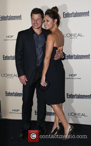 Nick Lachey , Vanessa Lachey - Celebrities attend 2015 Entertainment Weekly Pre-Emmy Party at Fig & Olive Melrose Place. at...