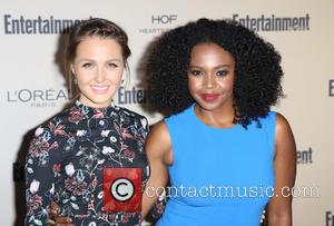 Camilla Luddington , Jerrika Hinton - Celebrities attend 2015 Entertainment Weekly Pre-Emmy Party at Fig & Olive Melrose Place. at...