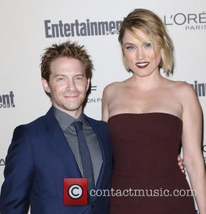 Seth Green , Clare Grant - Celebrities attend 2015 Entertainment Weekly Pre-Emmy Party at Fig & Olive Melrose Place. at...