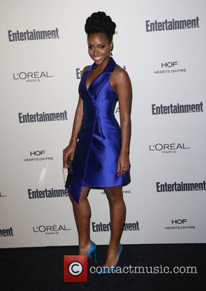 Teyonah Parris - Celebrities attend 2015 Entertainment Weekly Pre-Emmy Party at Fig & Olive Melrose Place. at Fig & Olive...