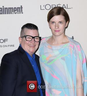 Lea DeLaria , Chelsea Fairless - Celebrities attend 2015 Entertainment Weekly Pre-Emmy Party at Fig & Olive Melrose Place. at...