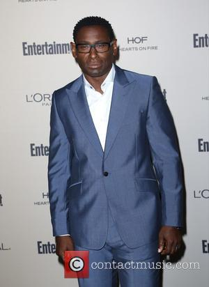 David Harewood - Celebrities attend 2015 Entertainment Weekly Pre-Emmy Party at Fig & Olive Melrose Place. at Fig & Olive...