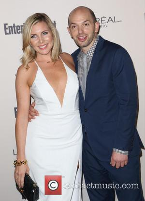 June Diane Raphael , Paul Scheer - Celebrities attend 2015 Entertainment Weekly Pre-Emmy Party at Fig & Olive Melrose Place....