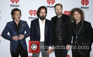 The Killers - iHeartRadio Music Festival 2015 at the MGM Grand Garden Arena - Day 1 - Arrivals at MGM...