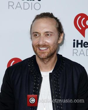 David Guetta - iHeartRadio Music Festival 2015 at the MGM Grand Garden Arena - Day 1 - Arrivals at MGM...