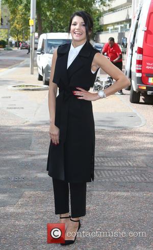 Natalie Anderson - Natalie Anderson outside ITV Studios - London, United Kingdom - Friday 18th September 2015