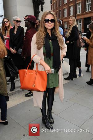 Emily Atack - Emily Atack at LFW - London, United Kingdom - Friday 18th September 2015
