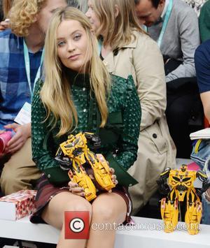 Laura Whitmore - London Fashion Week Spring/Summer 2016 - Fyodor Golan - Front Row at London Fashion Week - London,...