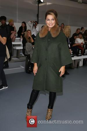 Sam Faiers - London Fashion Week Spring/Summer 2016 - Jean-Pierre Braganza - Front Row at London Fashion Week - London,...