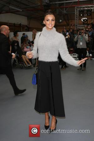 Lucy Mecklenburgh - London Fashion Week Spring/Summer 2016 - Jean-Pierre Braganza - Front Row at London Fashion Week - London,...
