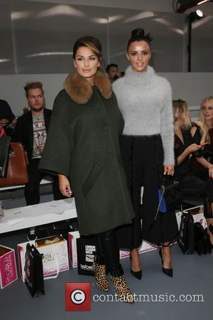 Sam Faiers , Lucy Mecklenburgh - London Fashion Week Spring/Summer 2016 - Jean-Pierre Braganza - Front Row at London Fashion...
