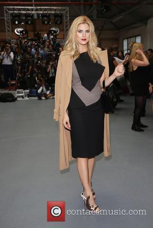 Ashley Roberts - London Fashion Week Spring/Summer 2016 - Jean-Pierre Braganza - Front Row at London Fashion Week - London,...