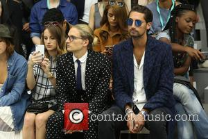 Rosie Fortescue, Oliver Proudlock and Hugo Taylor