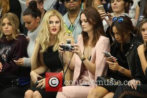 Ashley James , Charlotte De Carle - London Fashion Week Spring/Summer 2016 - Jean-Pierre Braganza - Front Row at London...